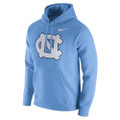 Nike Carolina Club Fleece Hood - Carolina Blue NC