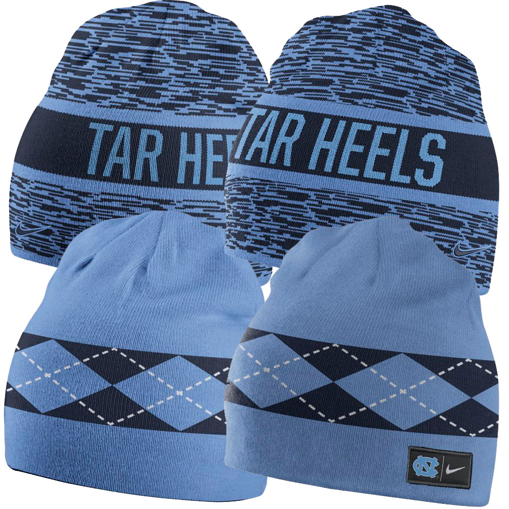 0a4962b9974f3 Nike Reversible Tar Heels Beanie. Image 1. Loading zoom