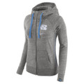 Ladies Nike Vintage Full Zip Hoodie - Grey Heather