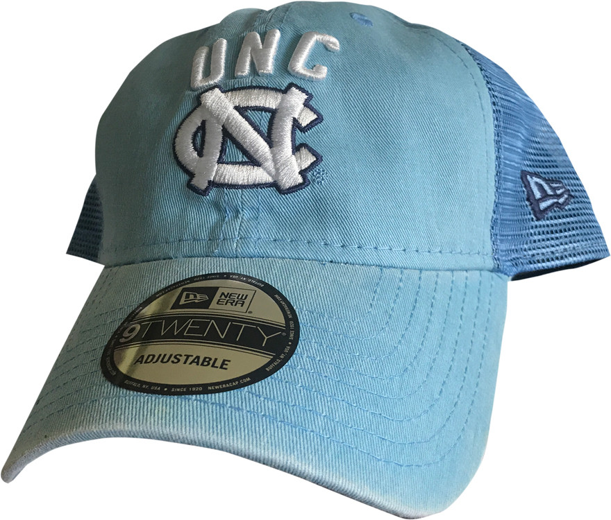 best sneakers f8e0e 0104e New Era Trucker Hat - Rugged Stack Carolina Blue. Image 1. Loading zoom