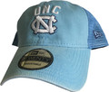 New Era Trucker Hat - Rugged Stack Carolina Blue
