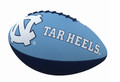 Logo Brands Junior Sized Rubber Football - NC Tar Heels