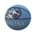 Logo Brands Full Size Rubber Basketball - Ram Head Carolina