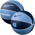 Nike Mini Size Rubber Basketball - Carolina Blue and Navy