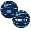 Nike Versa Tack Full Size Rubber Basketball - Navy NC Carolina