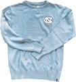Bruzer Carolina Blue Crew Neck Sweater - Left Chest NC