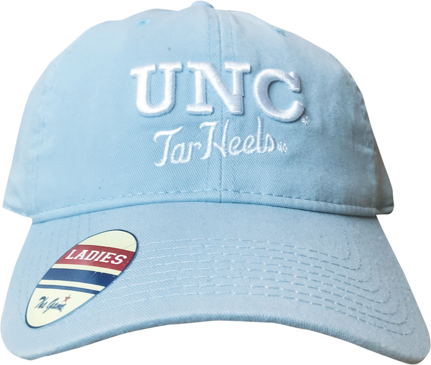 a0a7b3335 Women's The Game Carolina Blue UNC Tar Heels Hat. Image 1. Loading zoom