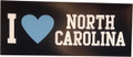 SDS Navy I Heart North Carolina Magnet
