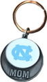 Neil Metal Circular NC Mom Keychain