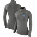 Women's Nike Carolina 1/4 Zip Warm Top - Carbon Heather