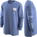 Nike Jumpman Elevate Dry Long Sleeve Tee - Carolina Blue