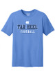 Carolina Mesh Letter Sport Performance Tee - Football