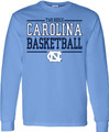 Carolina Sport Between the Lines LONG SLEEVE Tee - Basketball