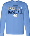 Carolina Sport Between the Lines LONG SLEEVE Tee - Baseball