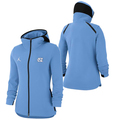 Women's Nike Jumpman Showtime Full Zip Hoodie - Carolina Blue
