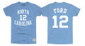 Retrobrand Phil Ford Tee Shirt - Carolina Blue