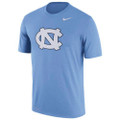 Nike Performance Logo Tee - Interlocking NC on Carolina Blue