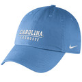Nike Carolina Sport Series Campus Cap - Carolina Blue with Lacrosse