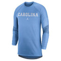 Nike Jordan Dry Top LONG SLEEVE - Carolina Blue with block Carolina