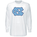 North Carolina Big NC LONG SLEEVE Tee - White