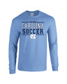 Carolina Sport Between the Lines LONG SLEEVE Tee - Soccer