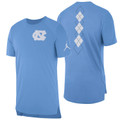 Nike Jumpman Carolina Elite Short Sleeve Shooter - Carolina Ble