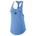 Women's Nike Carolina Racer Tank - Carolina Blue