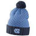 WOMEN'S Nike Carolina Blue Cuffed Beanie