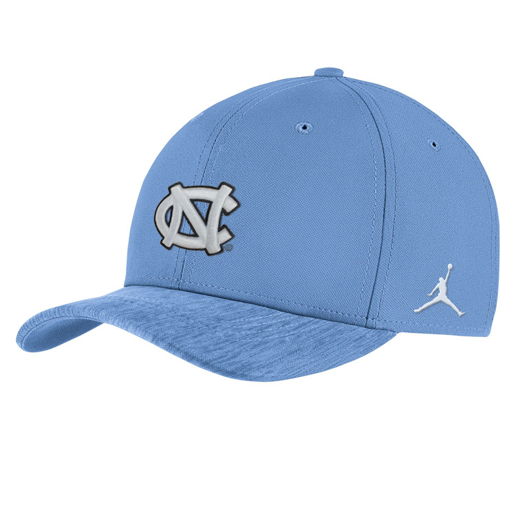 YOUTH Jordan Carolina Blue Sideline Hat c6edfbc885e