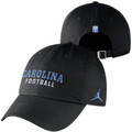 Nike Jordan Black Carolina Football Hat