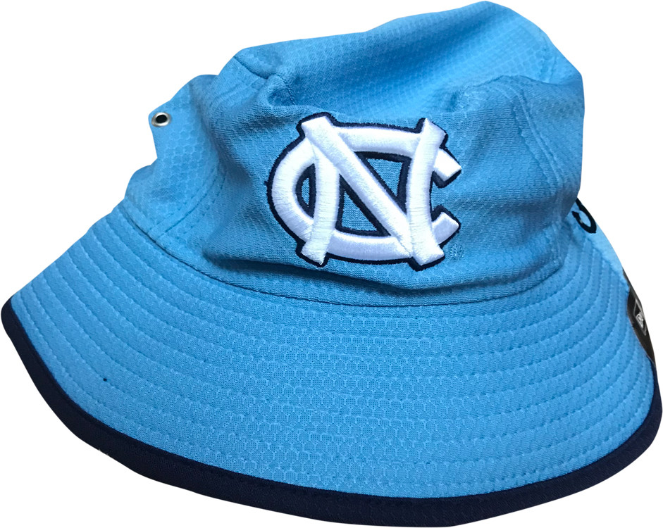 New Era Carolina Blue Bucket Hat. Image 1. Loading zoom 2abb98f97eac