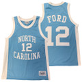 Retrobrand Phil Ford Retro Jersey - Carolina Blue #12