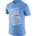 Nike Jumpman Carolina Dry Team JDI We are Tar Heels Tee - Carolina Blue