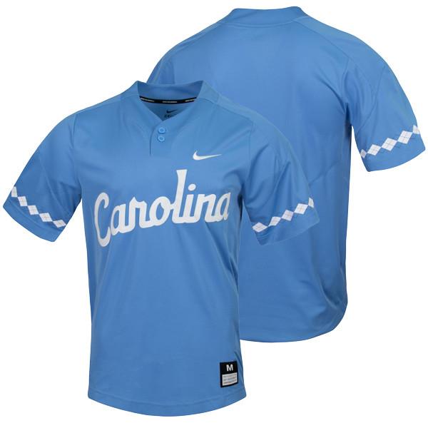 e4d715e5d 2019 Nike Carolina Baseball Jersey - 2 Button Carolina Blue. Loading zoom