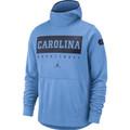 Nike Jordan Carolina SPOTLIGHT Hoodie - CAROLINA BLUE