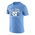 Nike Carolina DriFIT Cotton WOMEN'S BASKETBALL Tee - Carolina Blue
