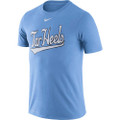 Nike Legend Baseball Tar Heels Tee-Carolina Blue