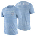Nike Velocity Legend Heathered Baseball Tee- Carolina Blue