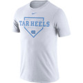 Nike Drifit Cotton Home Plate Tee - White