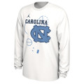 2020 Nike Jordan Bench Long Sleeve Tee - White