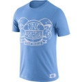 Nike Jordan Basketball Ball with Horns Tee - Carolina Blue