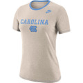 Nike Women's Dri-fit Cotton Carolina NC T-Shirt  -Birch Heather