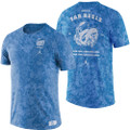 Nike Jordan Statement 'Old Ram RAH RAH' Tri-Blend T-Shirt - Carolina Blue