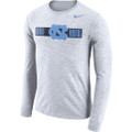 Nike Long Sleeve Dri-Fit Cotton Slub Tee - White