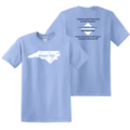 2020 Support Chapel Hill Sportswear  - Chapel Hill State Tee