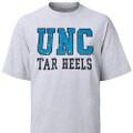 UNC Tar Heels Distressed T-Shirt