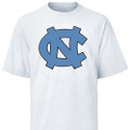 Carolina Big Interlock NC Tee Shirt - White
