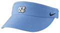 Carolina Nike Sideline DriFIT Visor - Carolina Blue