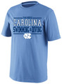 Carolina Sport Between the Lines Tee - Swimming & Diving