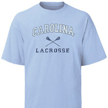 Carolina Lacrosse tee shirt - faded design